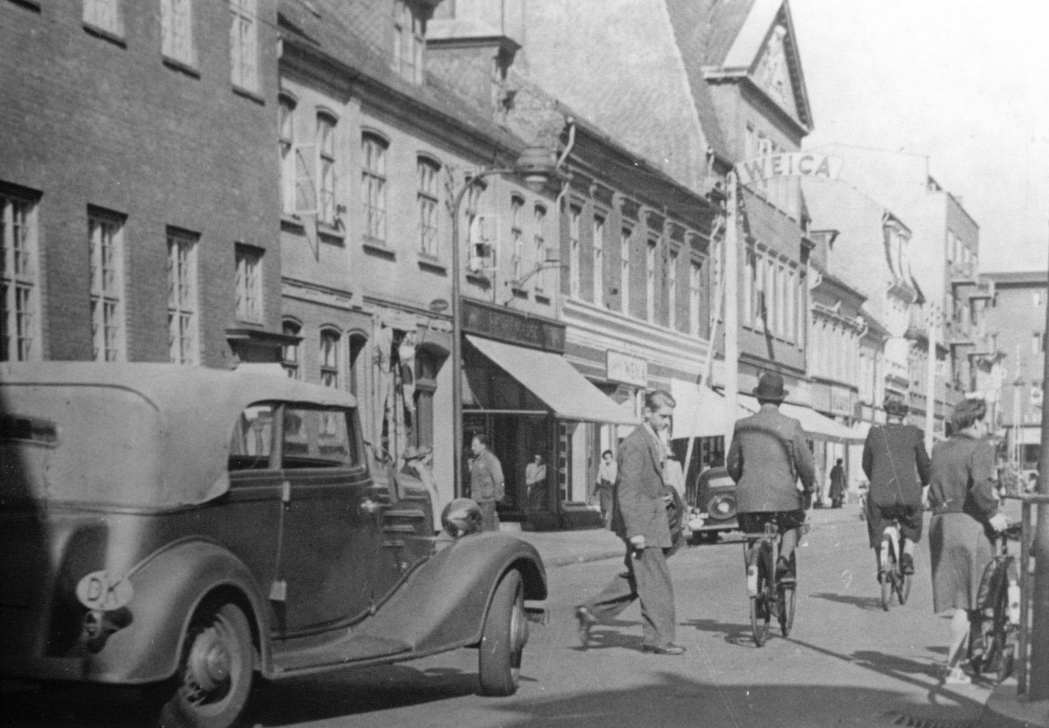 e6685c5d01e Gothersgade ca 1945 | Fredericia AVISEN