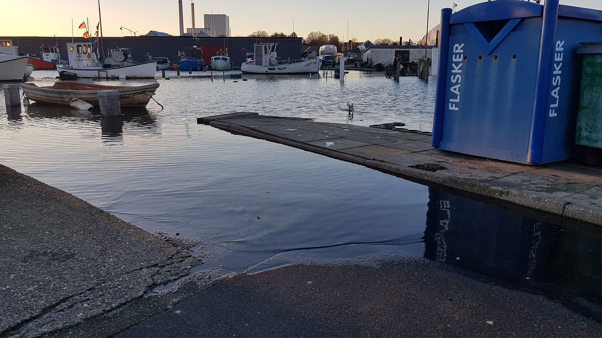 Skærbæk. 2.januar 2019. Foto: Thomas Lægaard, Fredericia AVISEN.