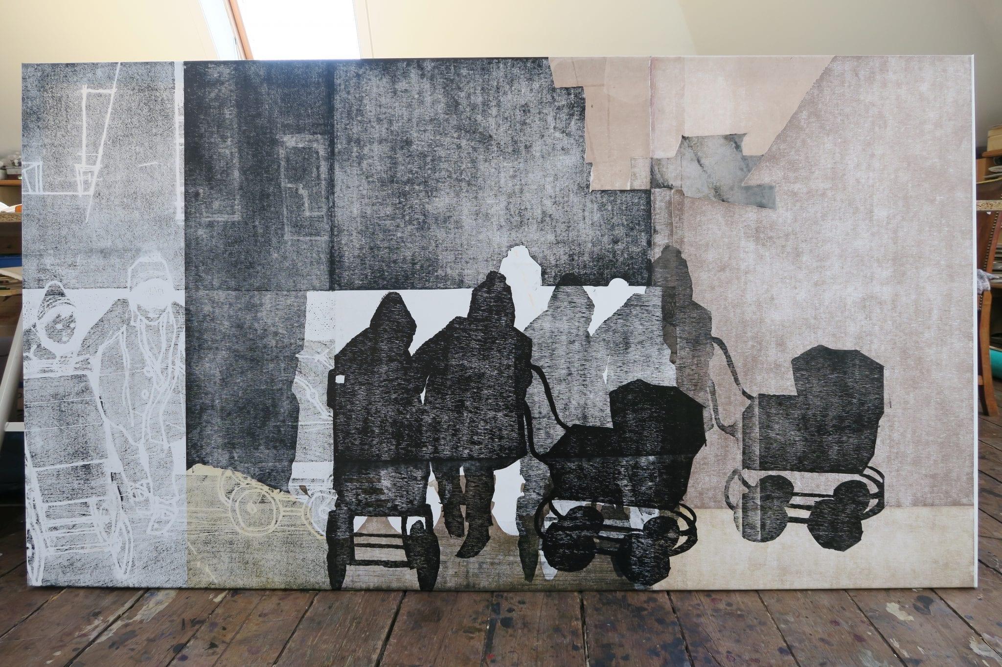 Billedkunstner Tine Hind udstiller i Fredericia